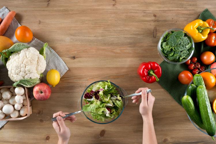 High carb health healthy vegetables