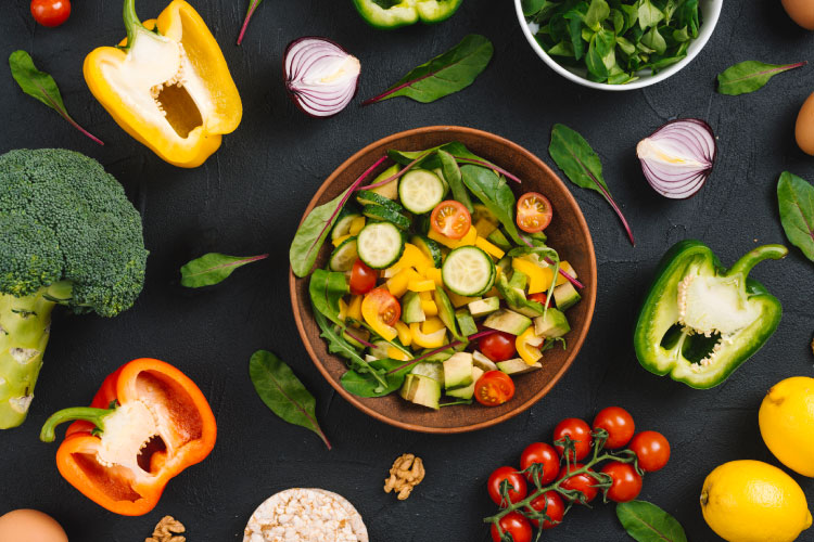 High carb health logo and images 4