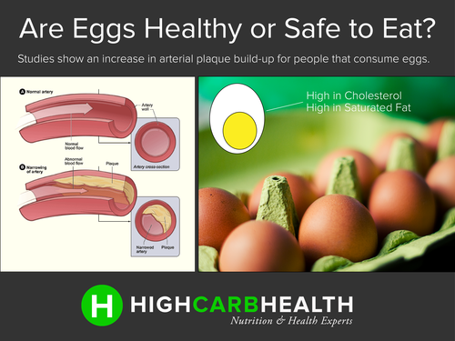 Eggs healthy or not - High Carb Health