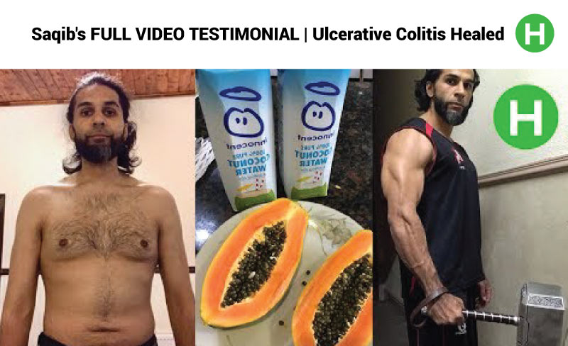 Saqib's FULL VIDEO TESTIMONIAL | Ulcerative Colitis Healed