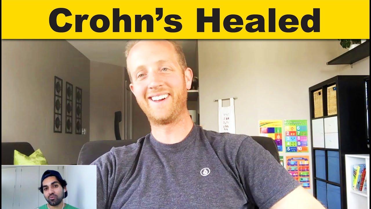 Crohn's Testimonial Steve Heals Crohn's disease on a Plant-based diet