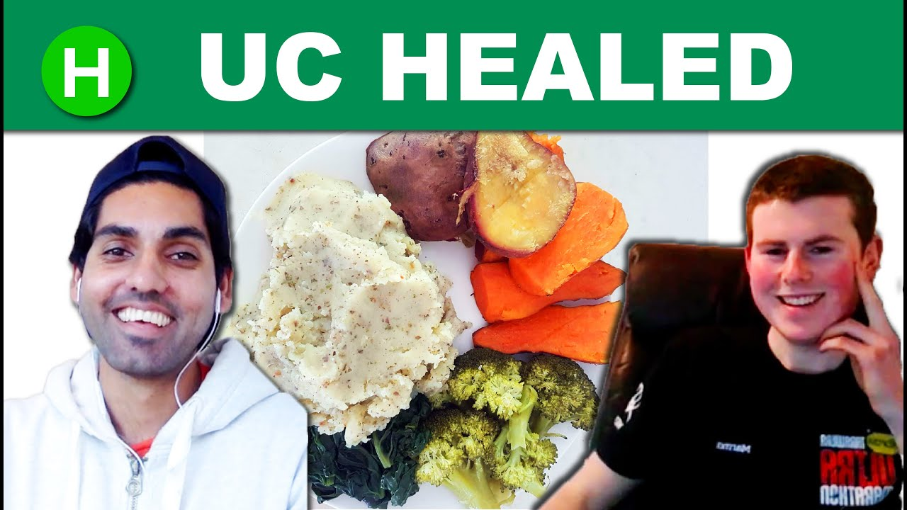 How Alan Healed Ulcerative Colitis Naturally through a Plant-based diet