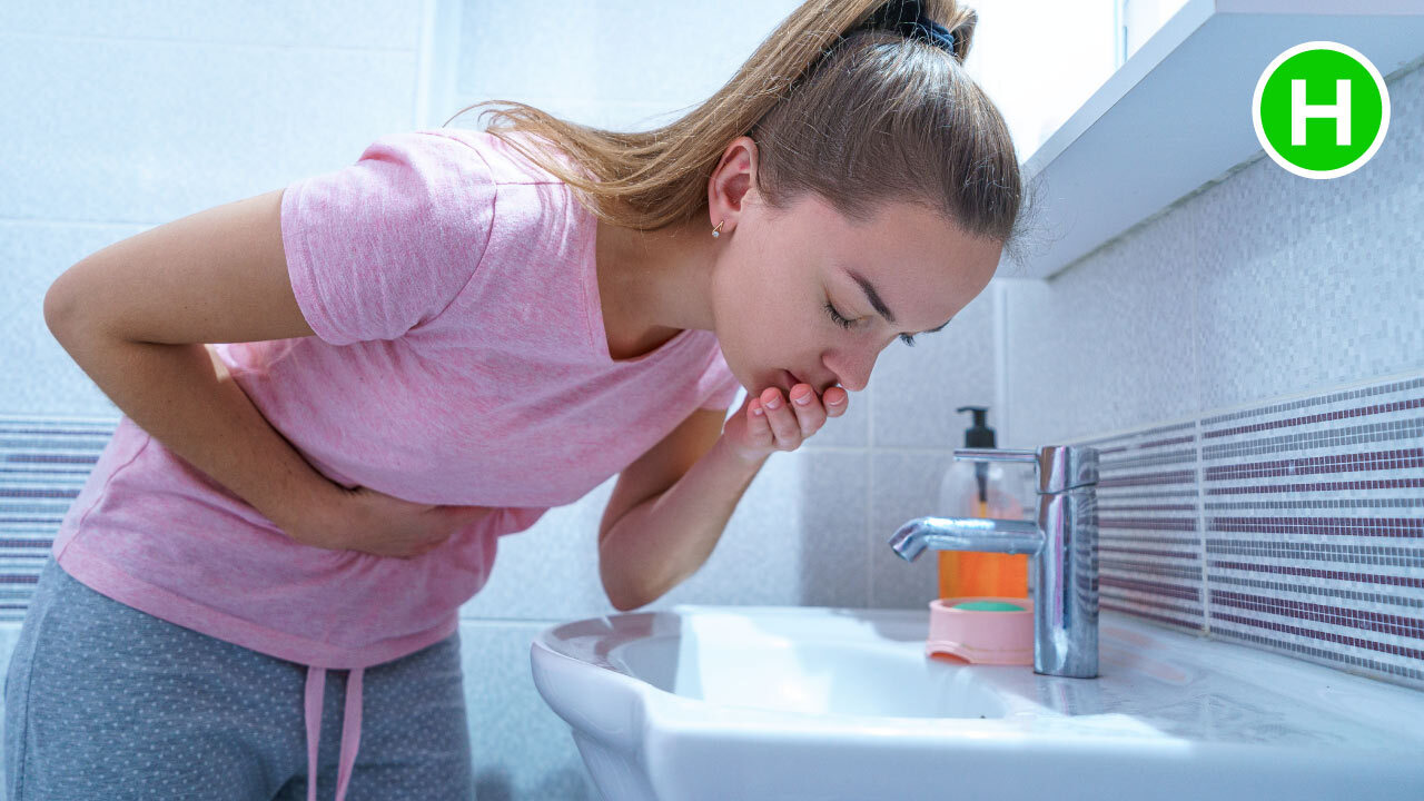 Vomiting - symptoms of Gastritis - High Carb Health