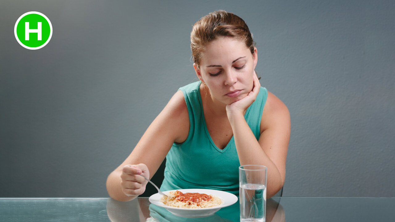 symptoms of Gastritis - Loss of Appetite - High Carb Health