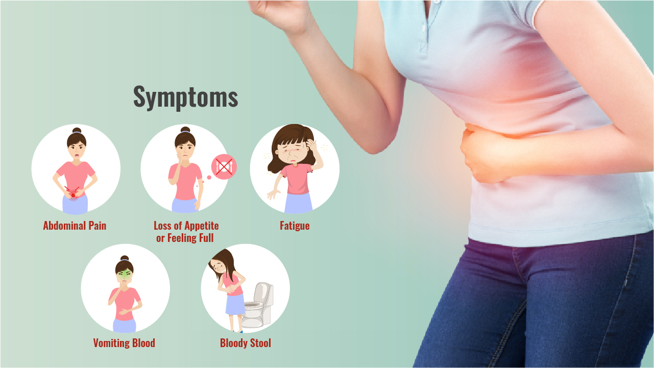 symptoms of chronic gastritis