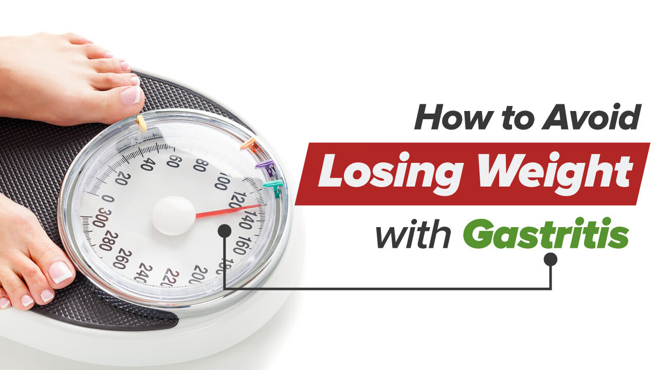 weight loss in gastritis